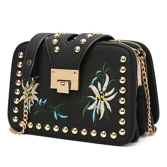 a79e679e4bf7 2016 Autumn National Vintage Embroidery Shoulder Bag Women Floral Bee  Embroidered Handbags Ladies Small Lock Crossbody Bag Sac-in Shoulder Bags  from Luggage ...