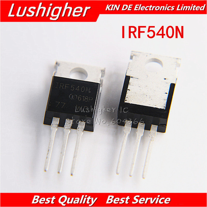10pcs <font><b>IRF540N</b></font> TO-220 IRF540NPBF TO220 IRF540 MOSFET new and <font><b>original</b></font> image