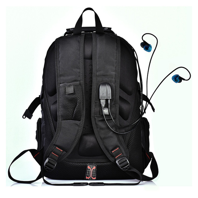 MAGIC UNION Laptop Bag External USB Charge Computer Backpacks Anti-theft Men Waterproof Bags backpack with Lock Raincover 4