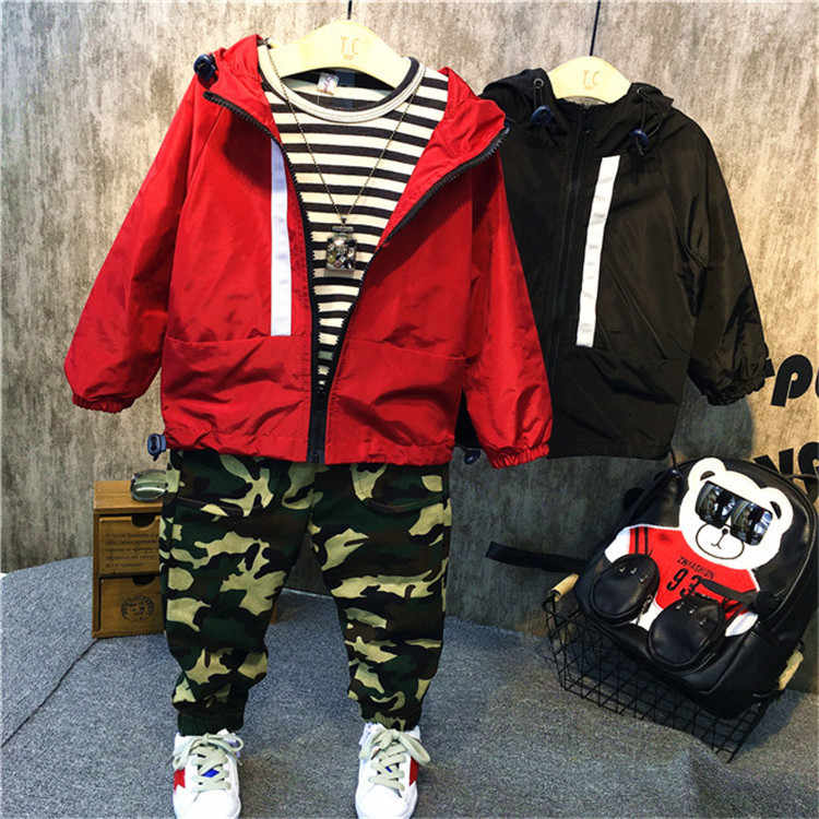 d7663cfbc Detail Feedback Questions about 2017 Autumn Jackets for Boys Coat ...