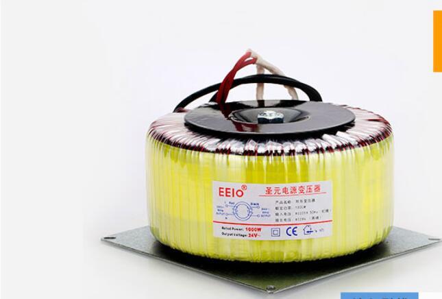 24V tranformer 1000VA Toroidal transformer copper custom transformer 220V input 24V 41.6A Isolation transformer