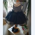 Retail !2016 new sleeveless Waist Chiffon Dress Girls Toddler 3D Flower Tutu Layered Princess Party Bow Kids Formal Dress--1pcs
