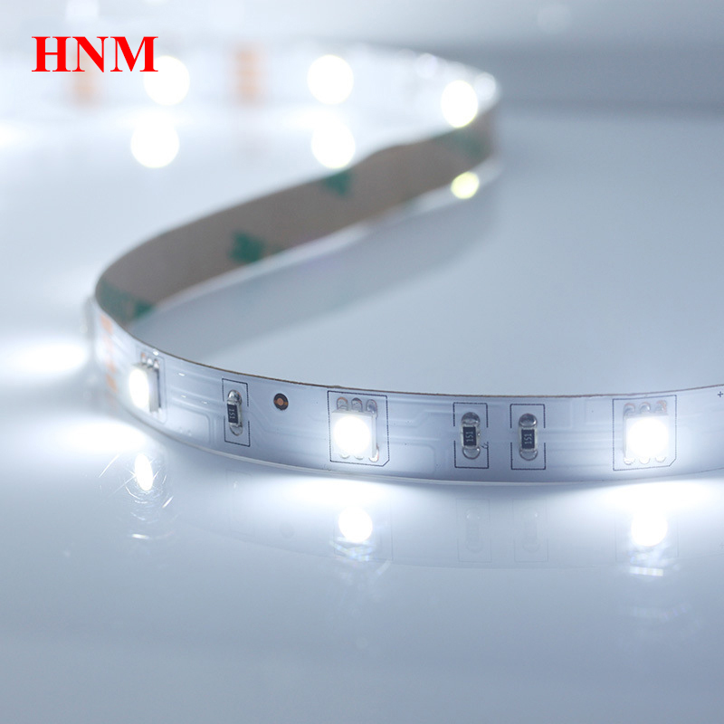 Led Lighting Dc12v 5m/roll 30leds/m Cold White Led Strip Light Flexible White Pcb Non-waterproof Ip20 Tape White Led 12v Led Light Lamp Luxuriant In Design
