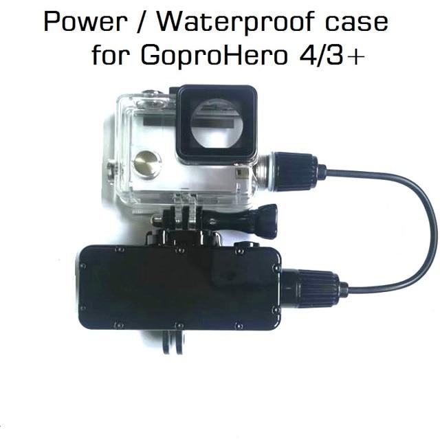 Power Bank Voor GoPro Hero 8/7/6/5/4/3 Actie Camera 5200mAh waterdichte Batterij Oplader Waterdichte case Gopro Opladen Shell/Doos