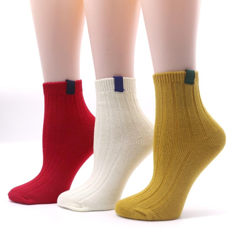 10 color Unisex Warm   Socks   Striped 3D   Socks   Autumn Winter Style Christmas Winter   Socks   for Woman Female Funny   Sock   Calcetines