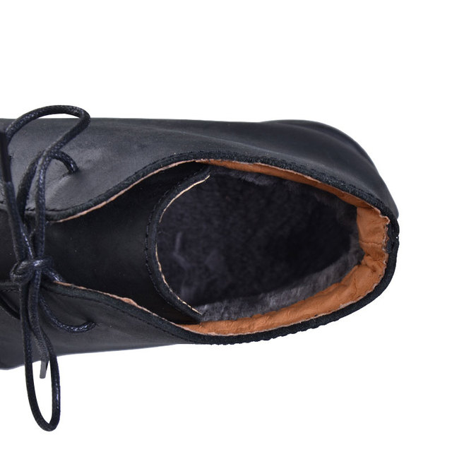 Men Nubuck Leather Boots