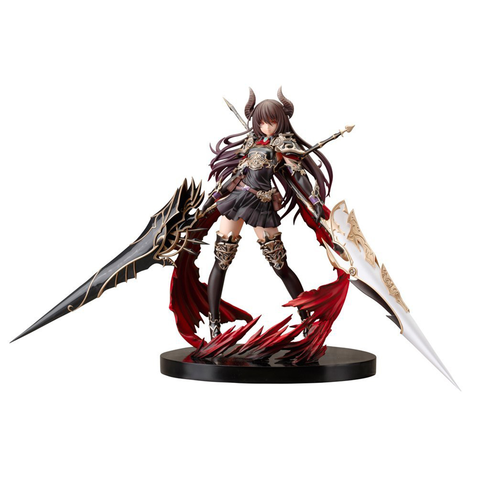 Rage de Bahamut modèle décoration 24 cm dragon noir foncé chevalier Forte figurines d'action