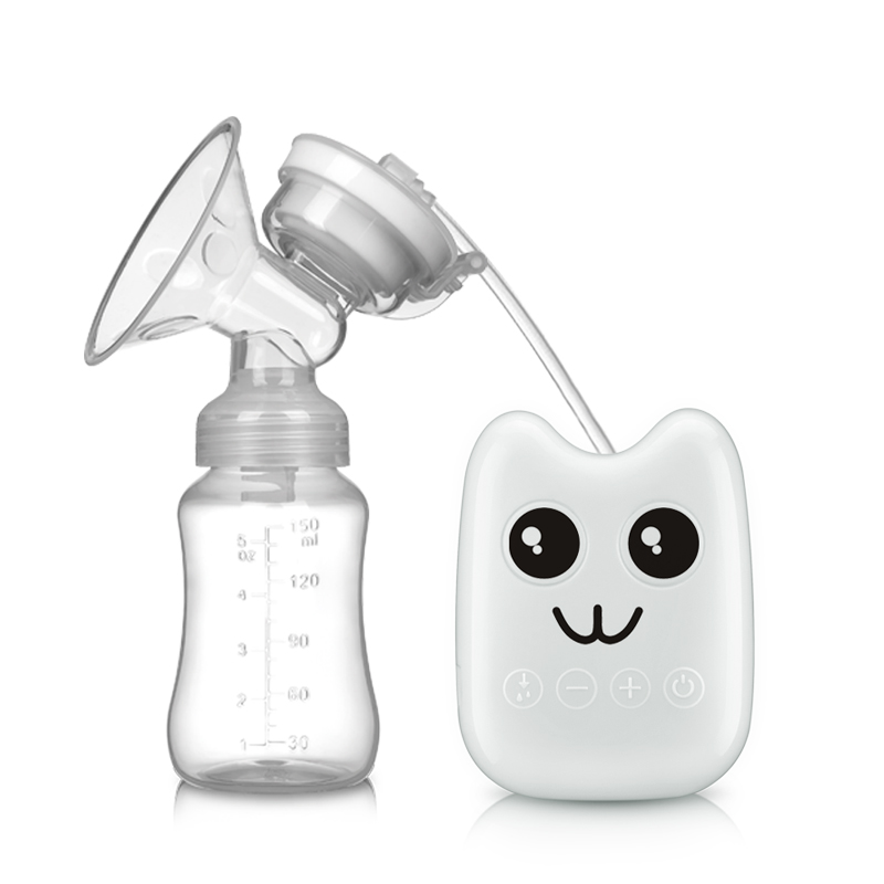ZIMEITU Single Electric Breast Pump With Milk Bottle Infant USB BPA free Powerful Breast Pumps Baby Breast Feeding For Baby CareZIMEITU Single Electric Breast Pump With Milk Bottle Infant USB BPA free Powerful Breast Pumps Baby Breast Feeding For Baby Care