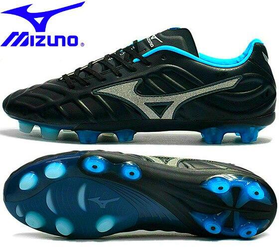 Mizuno Rebula V1 TF chaussures de football chaussures de sport en cuir microfibre chaussures de course à ongles cassés chaussures d'haltérophilie noir taille 39-45