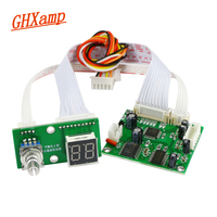Ghxamp dsp 디지털 잔향 모듈 스테레오 가라오케 잔향 보드 dc 5 v 믹서 모듈 0-99 효과 1 pc