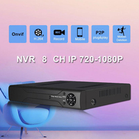 Hiseeu Digital Video Recorder For Cctv For IP Camera Metal Case H 264 VGA HDMI 8CH