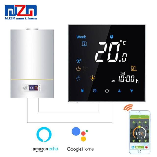 Boiler Thermostat Wiring Diagram, Mjzm Gl 3000 Wifi Gas Boiler Thermostat Alexa Voice Control Boiler Heating Temperature Regulator, Boiler Thermostat Wiring Diagram