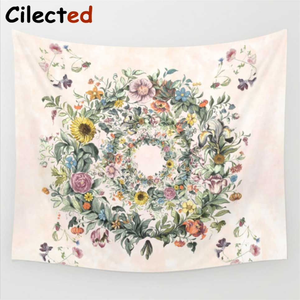 Cilected 24 colors psychedelic mandala tapestry cotton geometric cilected 24 colors psychedelic mandala tapestry cotton geometric lotus flower pattern indian tapestry wall hanging home decor in tapestry from home garden izmirmasajfo