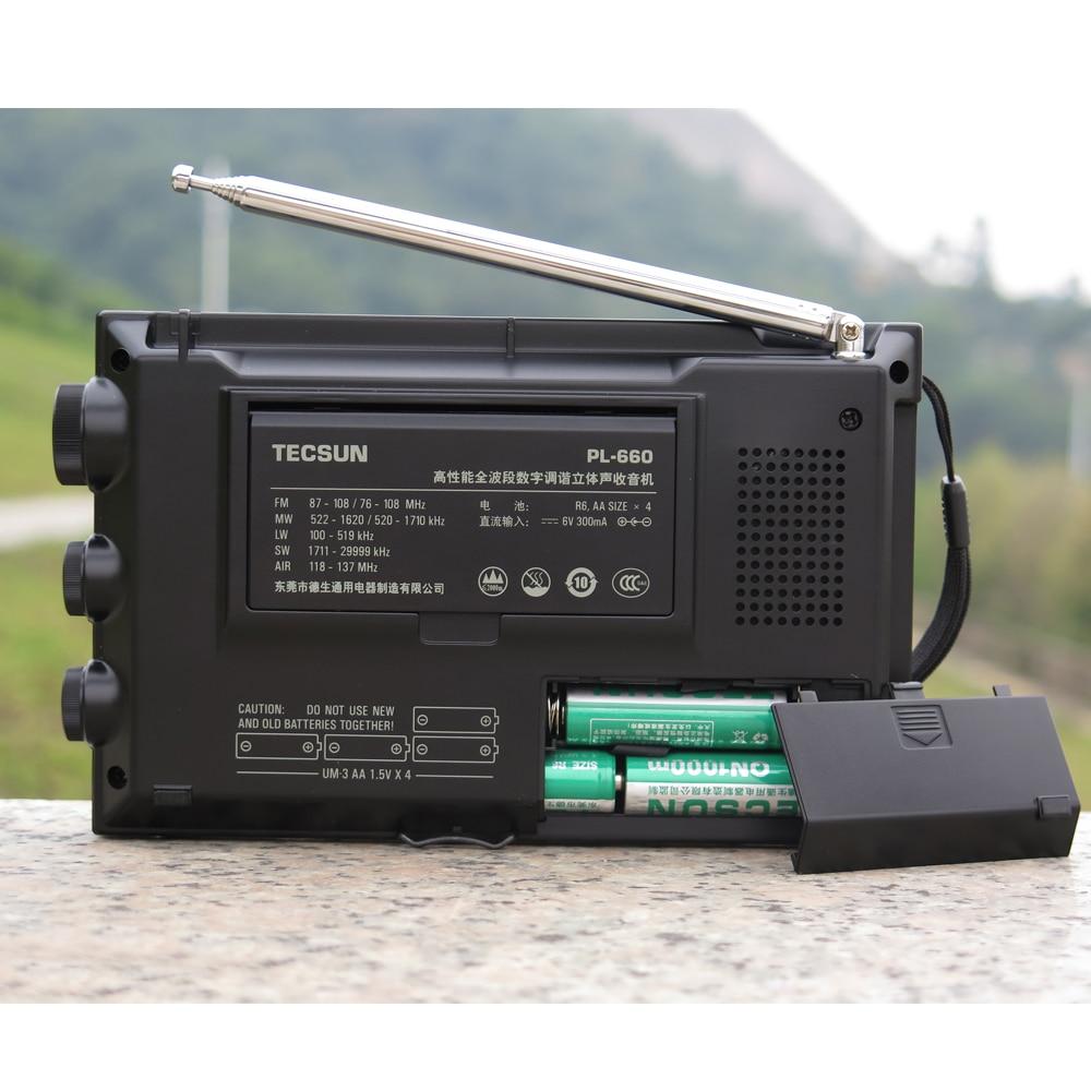 TECSUN PL-660 Radio PLL SSB VHF Zračni prijemnik FM / MW / SW / LW - Prijenosni audio i video - Foto 6