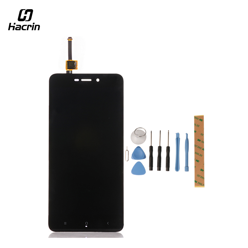 For Xiaomi Redmi 4A LCD Display Touch Screen With Tools Glass Panel Digitizer Phone Accessories For