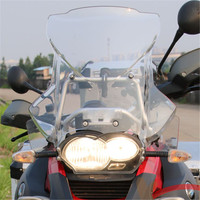 Motorcycle ABS plastic front windshield Windscreens For BMW R1200GS Adventure Wind Deflectors 2005 2006 2007 2008 09 10 11 2012