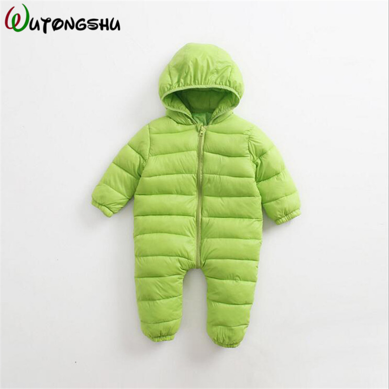 Baby Girls Rompers Winter Thick Cotton Climbing Clothes Newborn Boys Girls Warm Romper Knitted Sweater Christmas Hooded Outwear usb wired headphones w microphone for ps3 ps3 slim ps3 cech4000 green black