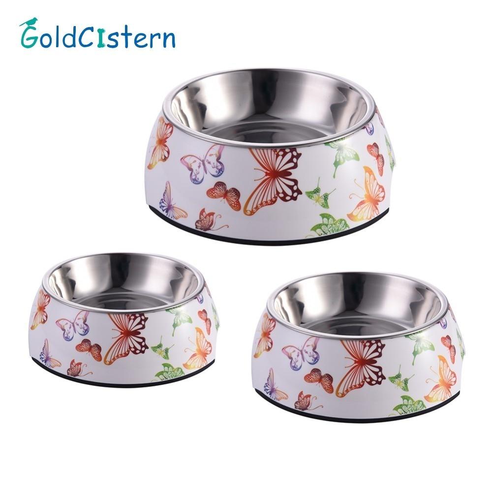 Pet Feeding Bowl Non-slip Stainless Stees