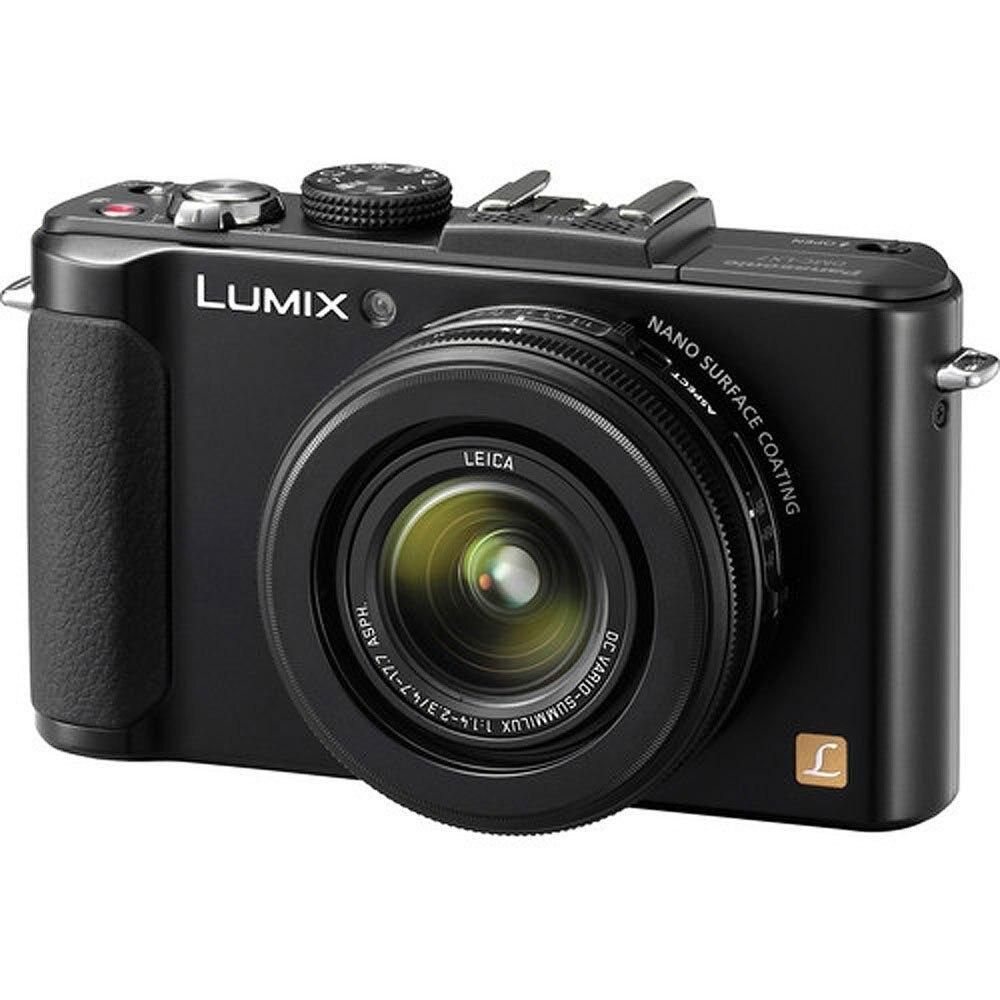 Utilisé, appareil photo numérique Panasonic LUMIX DMC-LX7K 10.1 MP avec zoom optique 3.8x et écran LCD 3.0 pouces-noir