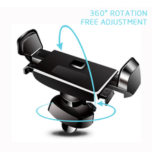 Mobile Stands Car Phone Holder For iPhone X 7 8 6 For Samsung S8 S9 S7 Air Vent Mount 360 Degree Ratotable GPS Support Kickstand