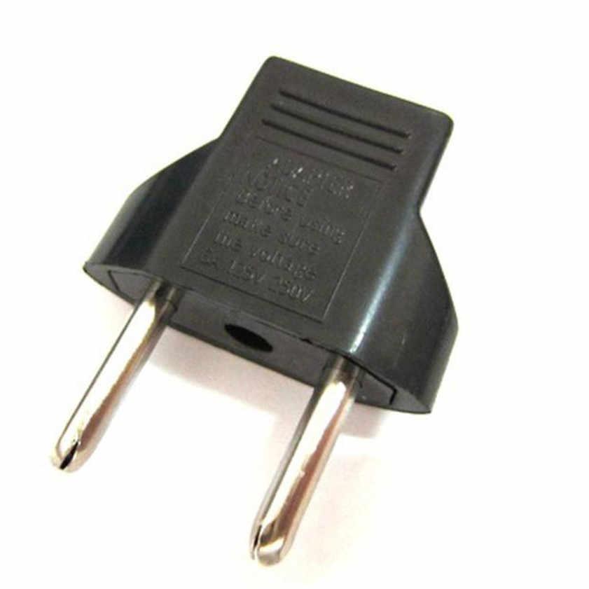 Hoge Kwaliteit ons EU Reizen Ac Socket Plug Adapter Adapter Converter 2 Pin