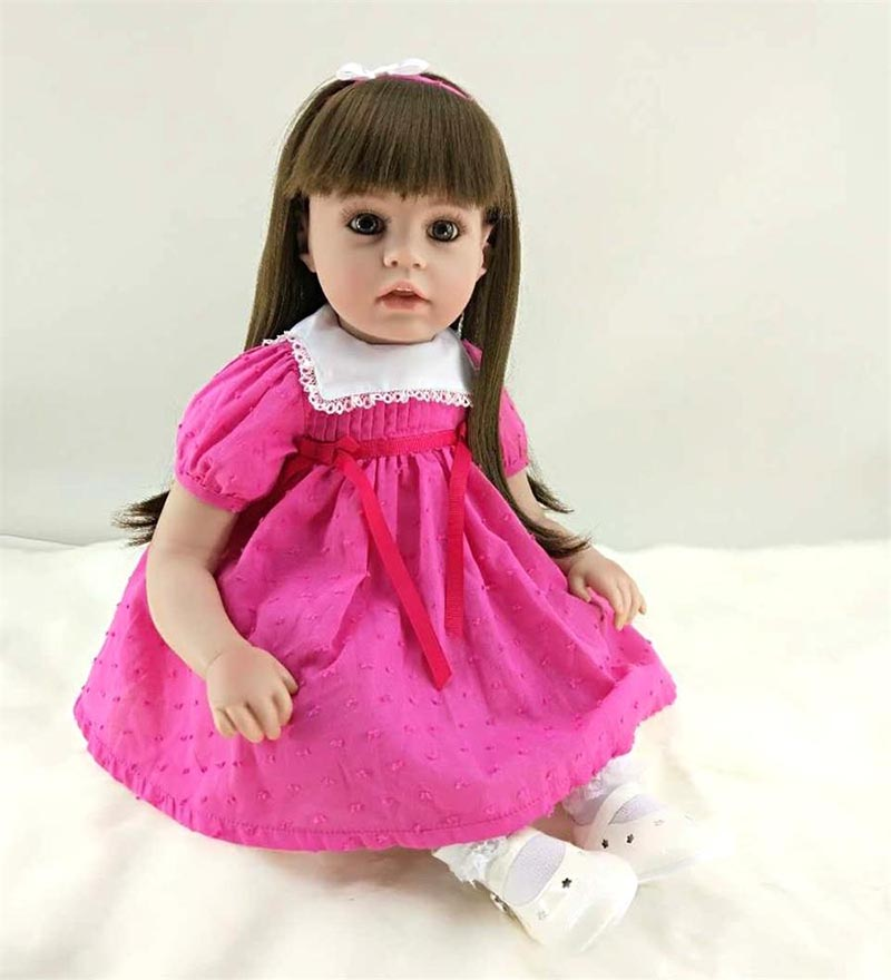 Pursue 22/56 cm Adora Lifelike Baby Dolls Silicone Reborn Toddler Dolls Toys for Girls boneca reborn American Girl Doll Gift short curl hair lifelike reborn toddler dolls with 20inch baby doll clothes hot welcome lifelike baby dolls for children as gift