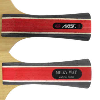 Galaxy YINHE Earth.3 Blade with 2x 729 Super FX Rubbers for a Racket Shakehand Long Handle FL