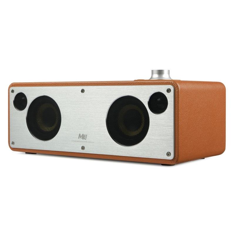 GGMM M3 Bluetooth Speaker WiFi Wireless Speaker Stereo Sound HiFi Audio Subwoofer Best Speaker Support Multiroom