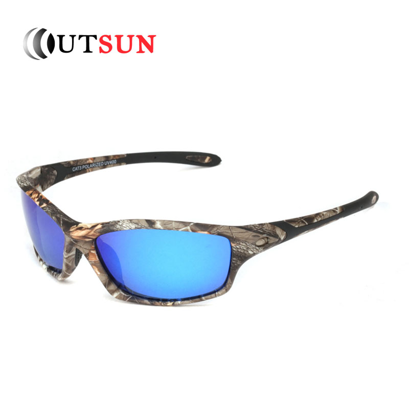 Outsun men polarized sunglasses camo design fishing for Mens fishing sunglasses