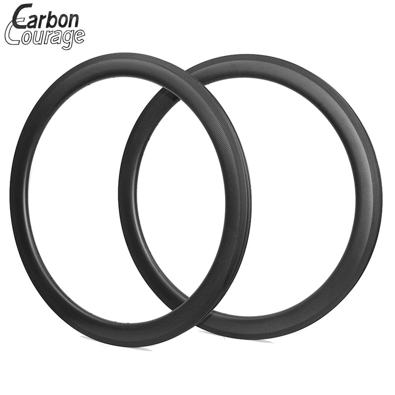 50mm Tubular Carbon Rims 25mm Wide Tubular Carbon Road Wheel Rim For A Bicycle China Racing Bike Rim Tubeless Bicycle Road Rim carbon mtb 650b rims stiffer dh bike part 27 5er 35x25mm wide down hill jumping racing ride excellent cycling parts store online