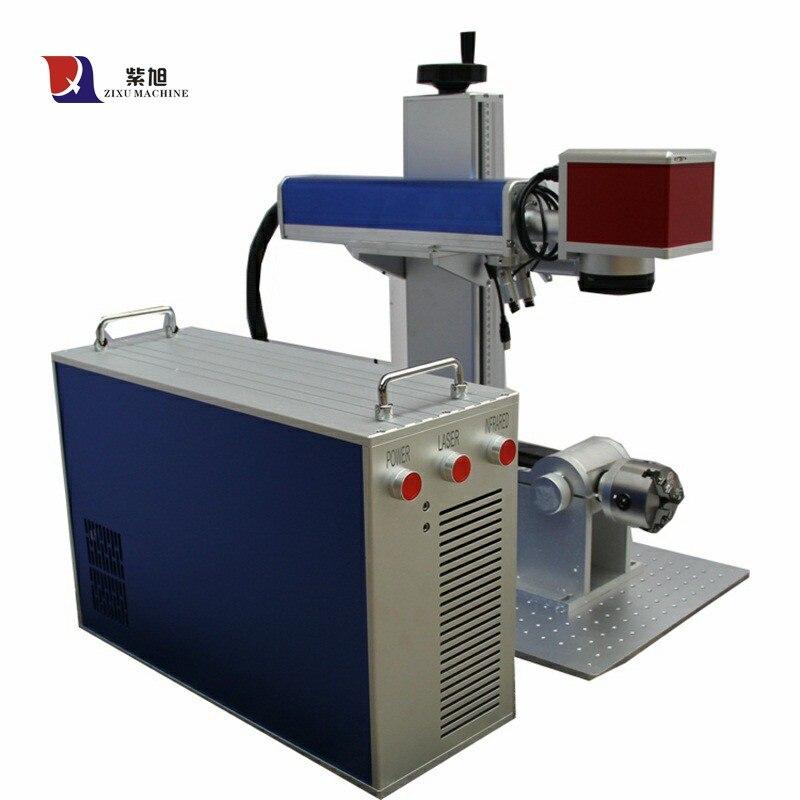 Color JPT M6 Mopa 20 W Rotační laserový rytec Mopa Laser Marking - Zařízení na obrábění dřeva - Fotografie 2
