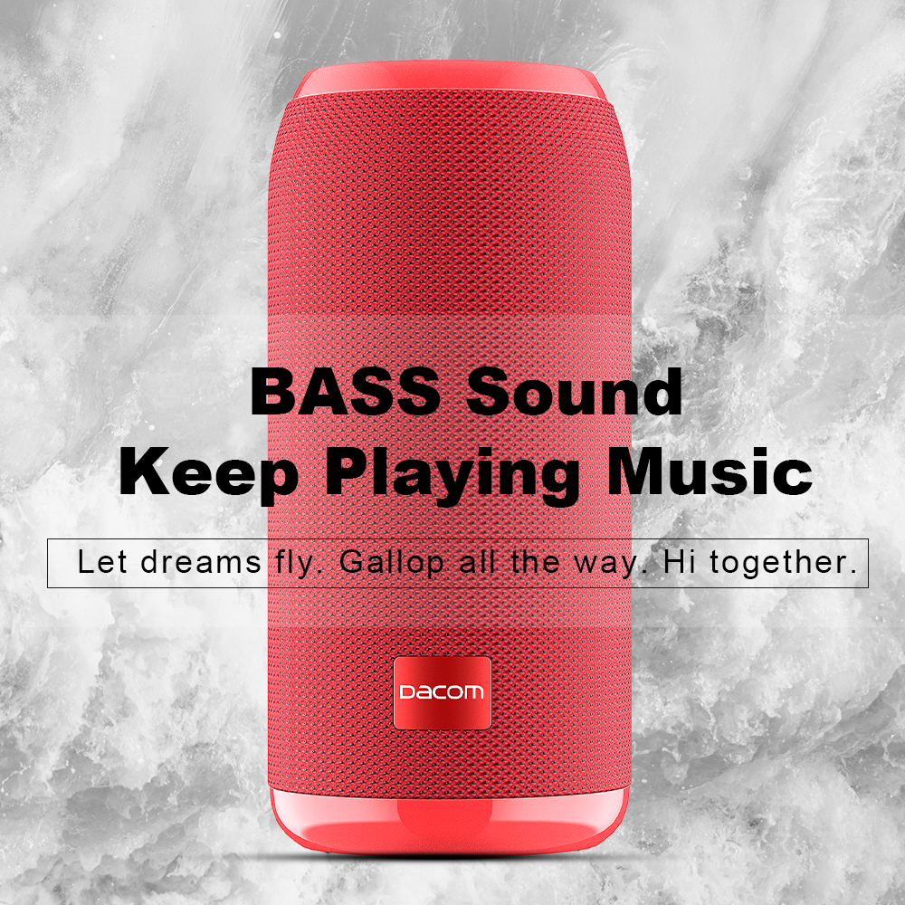 dacom q53 mini portable bluetooth speaker with bass 3d stereo music sub woofer and tf card support