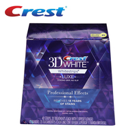 Original 1 Box 40Strips 20 Pouches Brand 3D White LUXE Professional Effects Dental Whitestrips Oral Hygiene