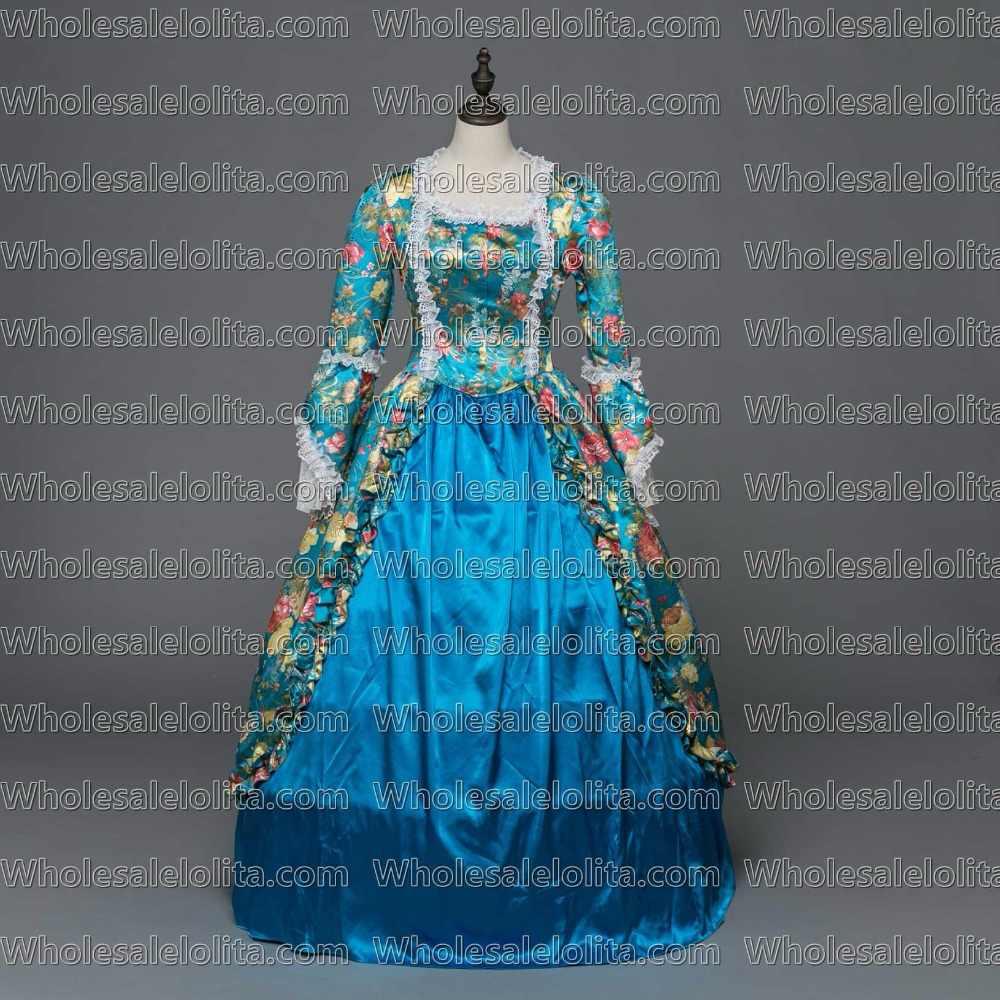 Vestido victoriano gótico georgiano victoriano bella sureña Maid Marian Dress Women Halloween Costume