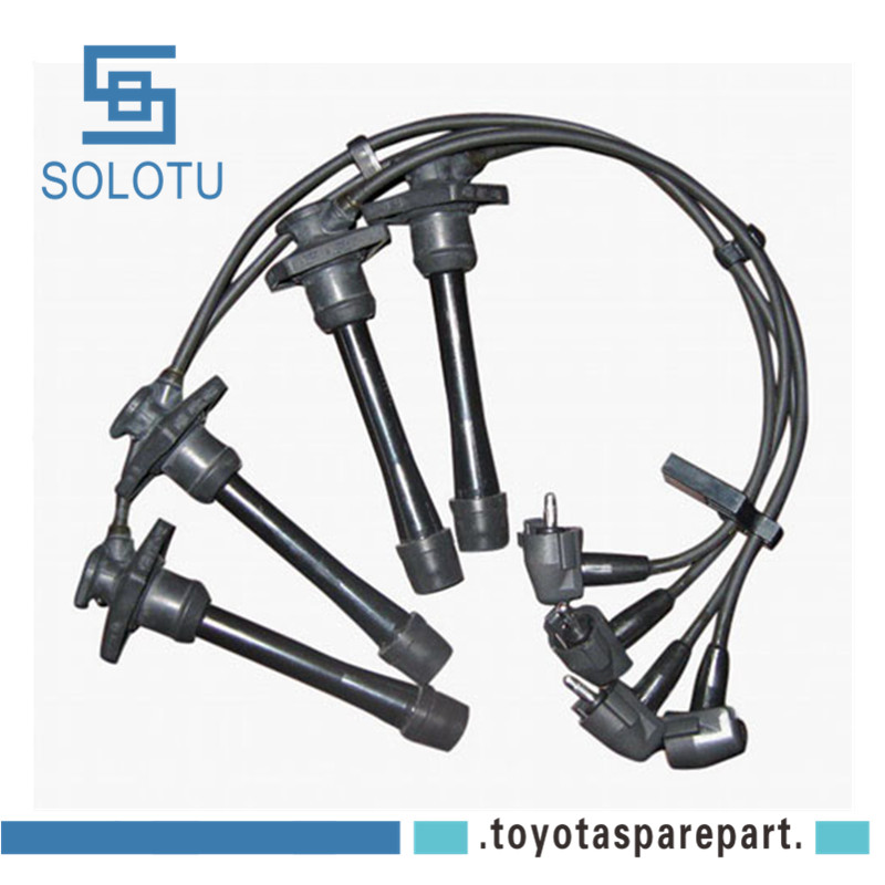 Ignition Spark Plug Wire Cable Set For Toyota Corolla 1991 1996 Vios