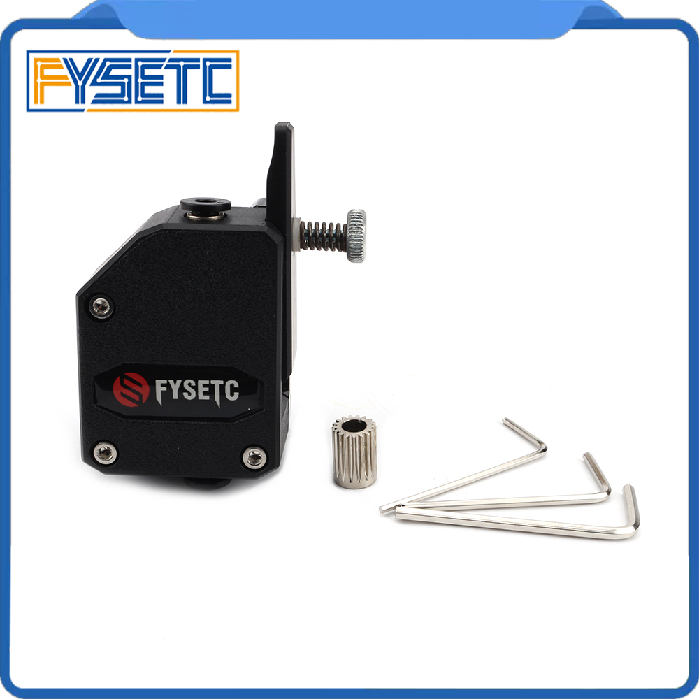 BMG Extruder Cloned Btech Bowden Extruder Dual font b Drive b font Extruder For Wanhao D9
