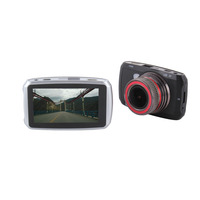 Dual Lens FHD 1080P Car DVR Lingtong 2248 LCD Screen Sony 1024 Car Video Recorder Dash