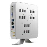 Mini PC Intel Core i3 5010U i5 5500U i7 7500U Windows 10 Linux 4 K HTPC ordinateur de bureau HDMI VGA WiFi Gigabit Ethernet 6 xUSB