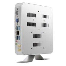 Мини ПК Intel Core i3 5010U i5 5500U i7 7500U Windows 10 Linux 4 к HTPC офисный компьютер HDMI VGA Wi-Fi Gigabit Ethernet 6xusb