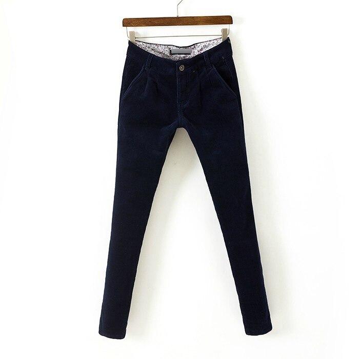 lined corduroy pants - Pi Pants