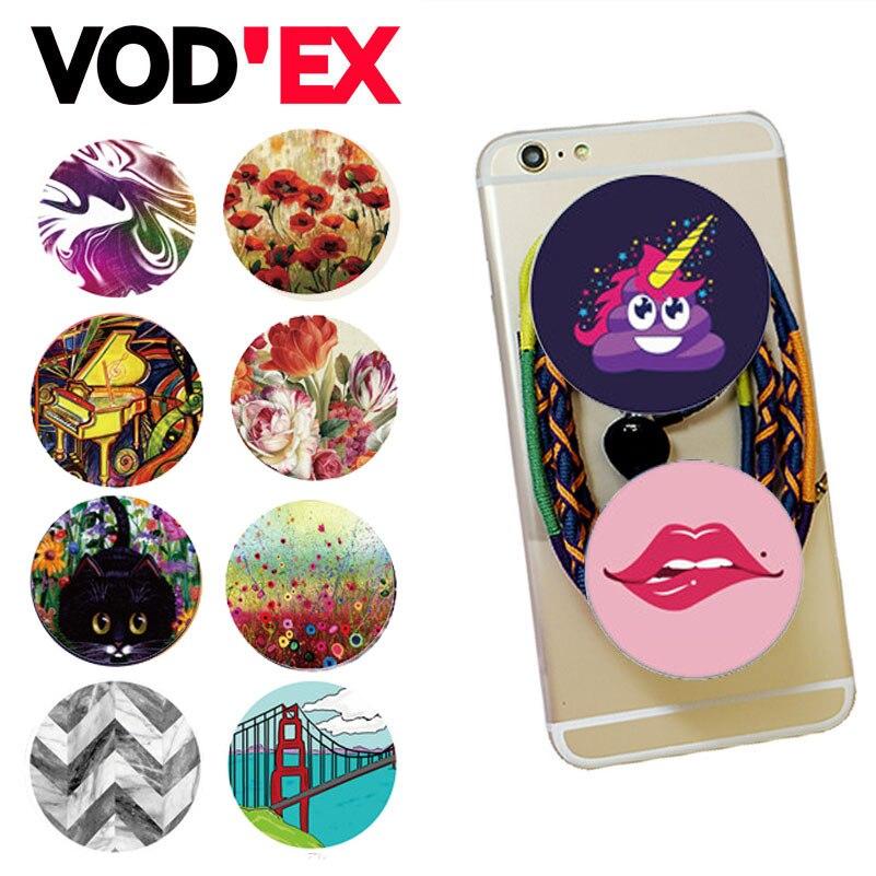 imágenes para 500 unids/lote 600 POP VODEX estilos Titular de Expansión Soporte y Montaje de Agarre para Smartphones y Tabletas Para Xiaomi iPhone