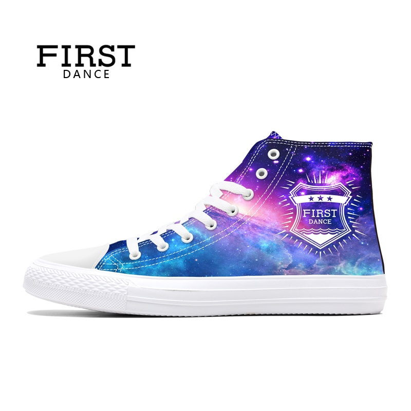 FIRST DANCE Nice Purple High Canvas Shoes Men Casual Classic Canvas Shoes Male Lace Up Hip Hop Breathable Custom Shoes For Men high quality mens jeans ripped colorful printed demin pants slim fit straight casual classic hip hop trousers ripped streetwear
