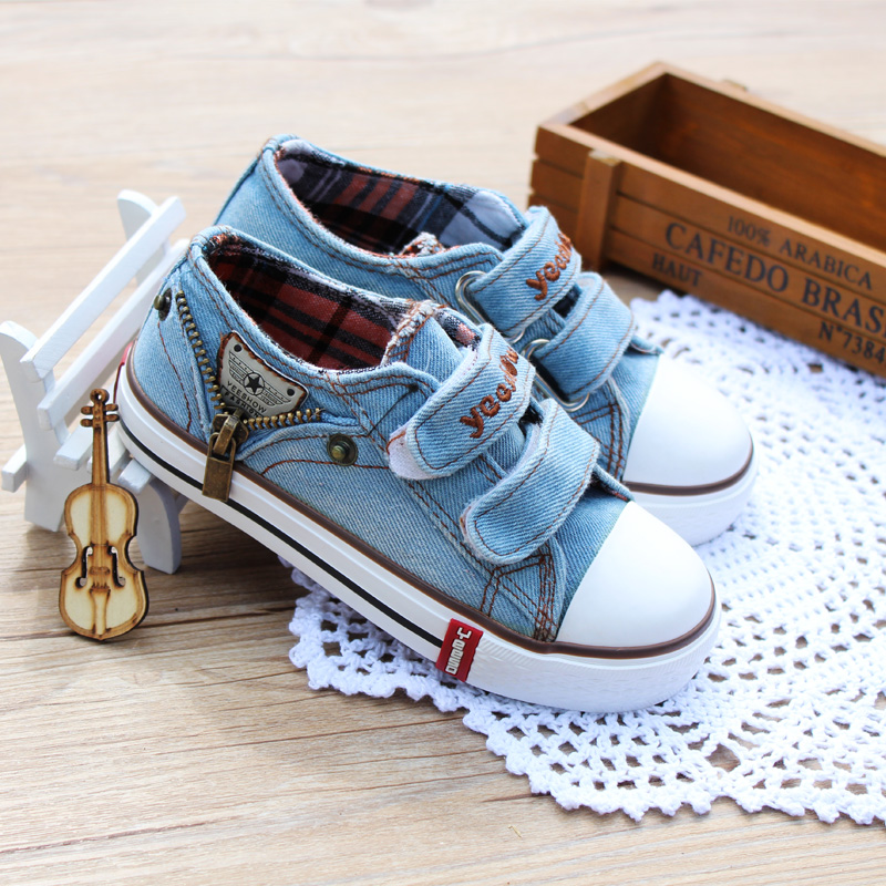 YEESHOW Classic Canvas Casual Shoes Boys Sneakers ...