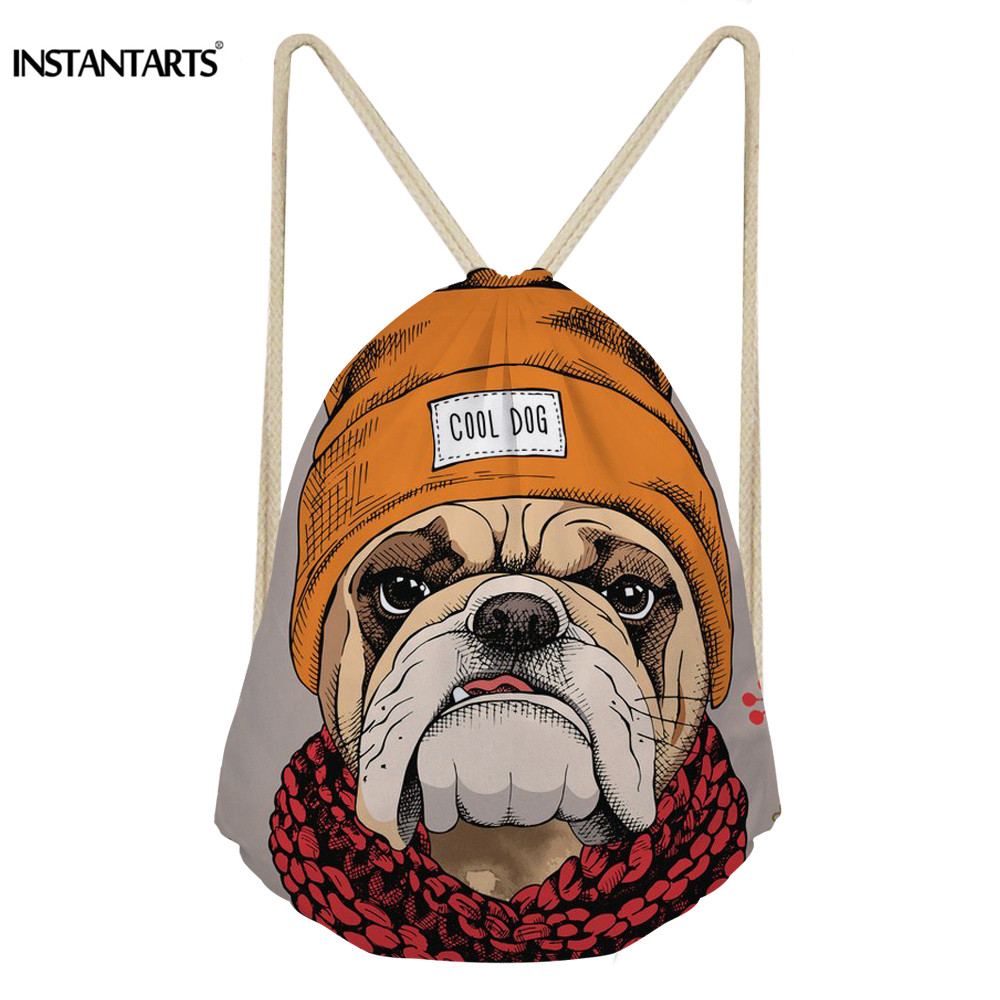 99d06881356f INSTANTARTS-Sports-Bags-Women-for-Gym-Fitness-Satin-Drawstring-Bags -Cool-Bulldog-Floral-Yorkie-Dog-3D.jpg