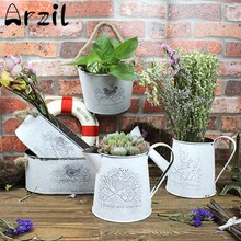 NEW 3D Bird Embossed Storage Basket Vase Garden Flower Pots Planter  Succulent Bonsai Nursery Pots Home