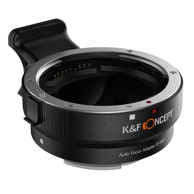 Lens Mount Adapter Auto Focus Adapter for Canon EOS EF, EF-S Lens to for Sony NEX Alpha E-Mount Camera