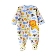 Winter Baby Rompers Long Sleeves 100% Cotton Infant Coveralls Newborn Baby Boy Girl Clothes Baby Clothing