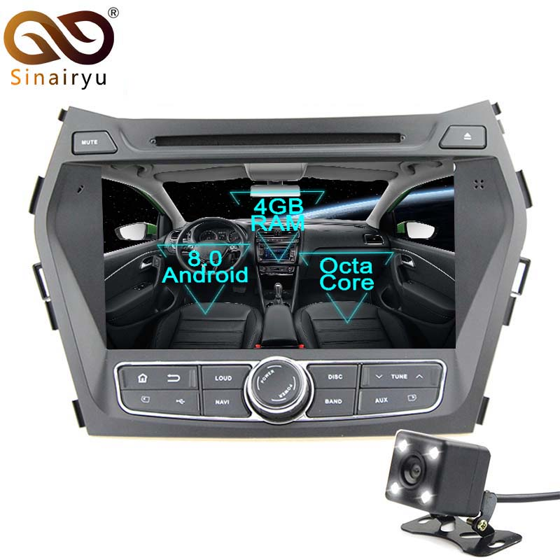 Sinairyu Android 8 0 Octa Core 8 Car DVD Player for Hyundai IX45 Santa Fe XL