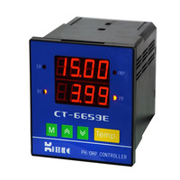 مقياس PH صناعي/وحدة تحكم ORP على الخط PH orp كاشف رصد القيمة متر CT-1001 قطب pH