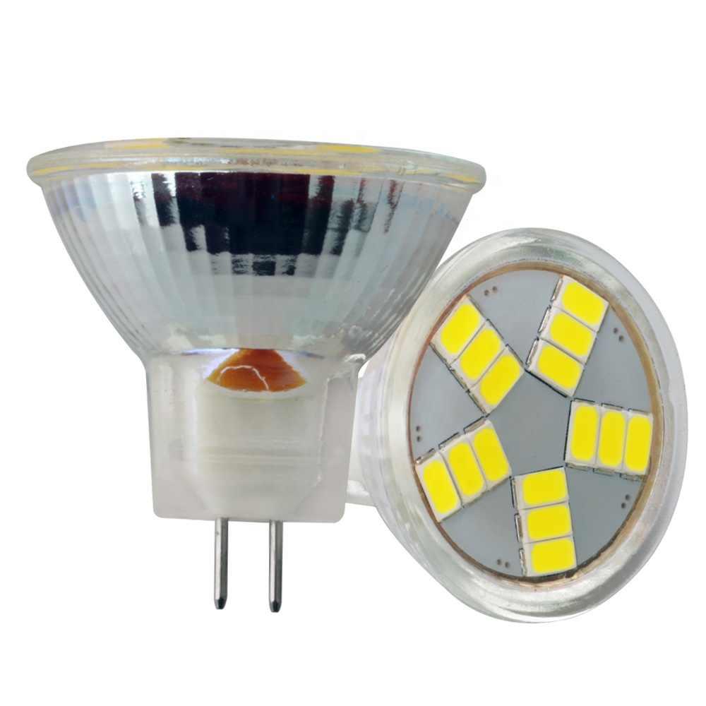 High Brightness MR11 COB LED Bulb Light AC/DC12V 220V Glass Body LED Lamp 5W 7W SMD5730 MR11 LED Spotlight Replace Halogen LIght